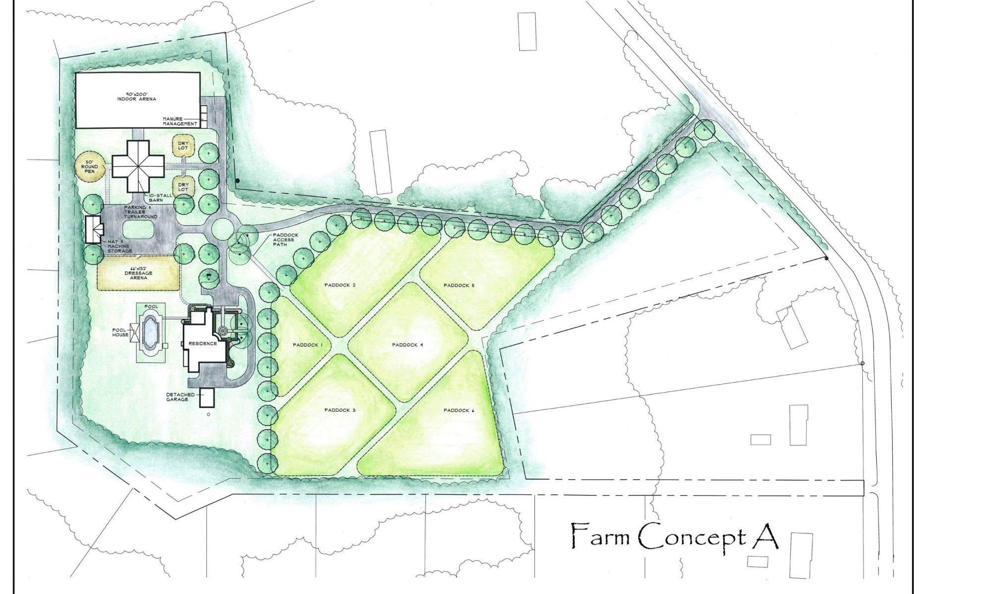Equestrian Farm Concept A
