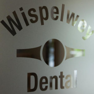Wispelwey Dental Office Door, Franklin Lakes, NJ