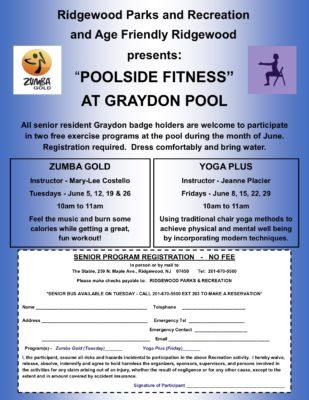 Poolside Fitness at Graydon