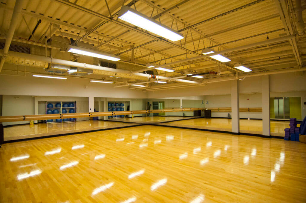 Dance Room at the Deal Sephardic Network Community Center