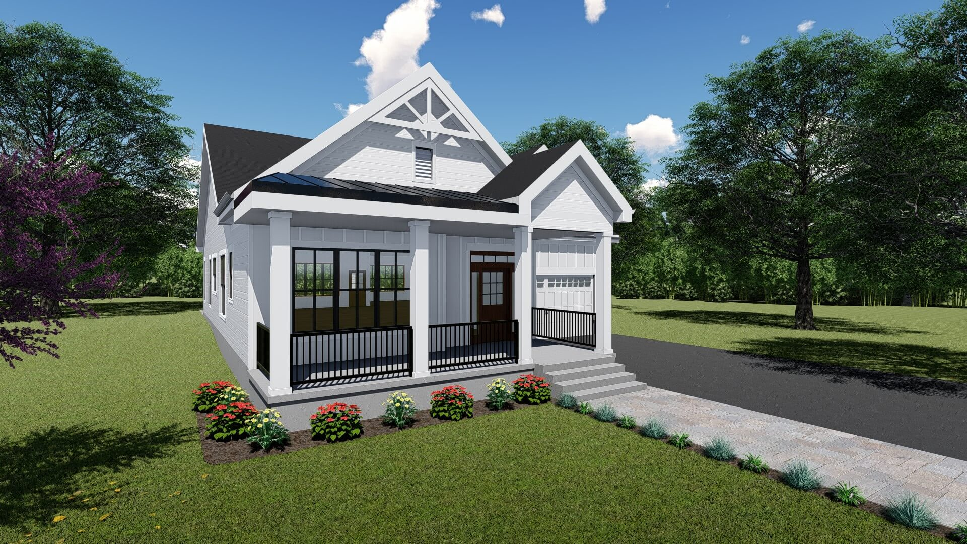 Farmhouse Style Ranch with Loft options