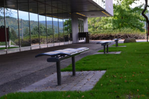 Paver & Bench Install at Ramapo College