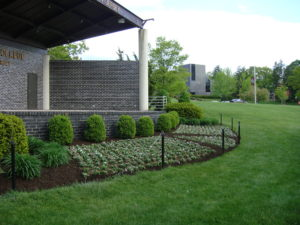 Annual Flower Install at Ramapo College