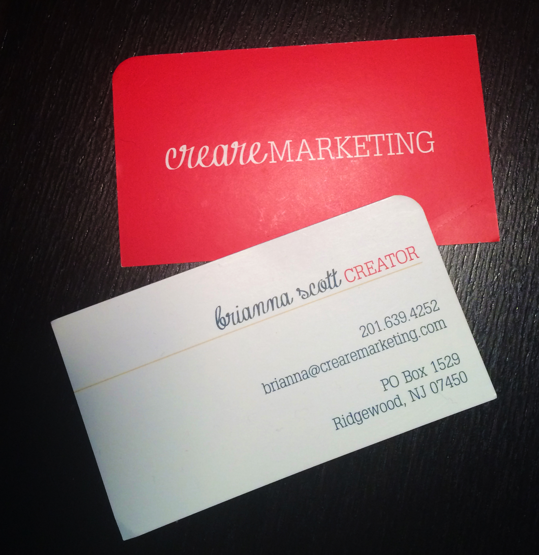 Do Your Business Cards Mean Business? Tips from Creare Marketing