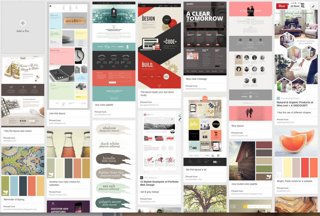 Creare Marketing Web Design Inspiration on Pinterest
