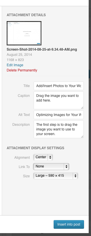 3 Steps to Optimize Your Images