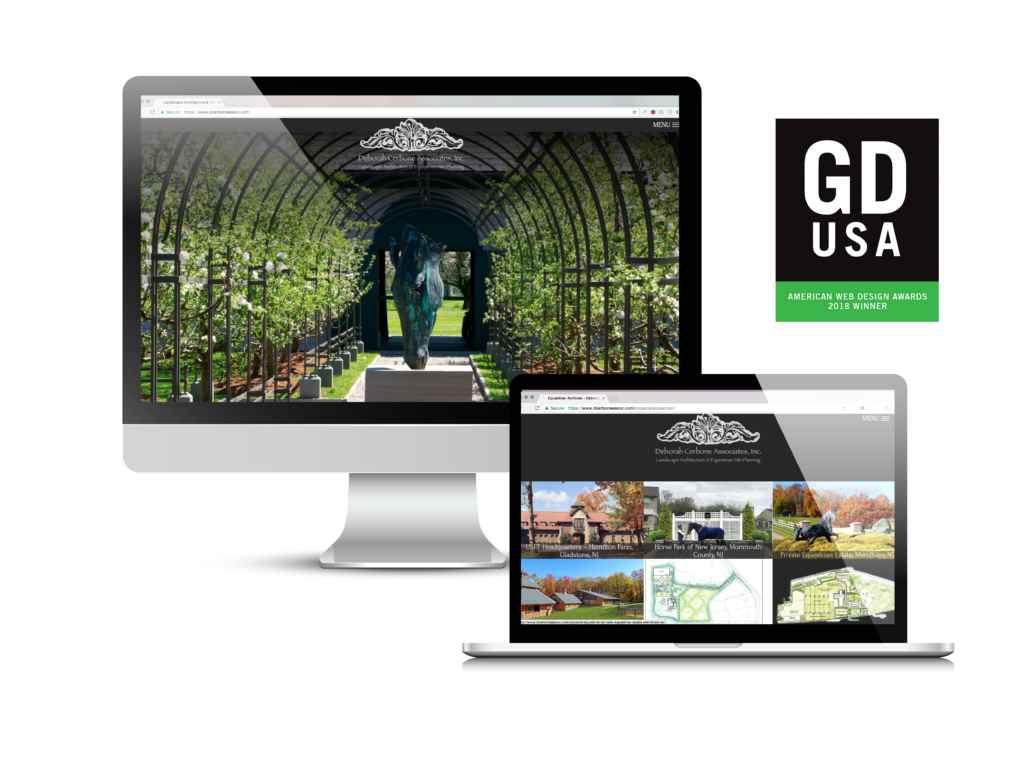 Deborah Cerbone Associates GDUSA 2018 Web Design Award Winner