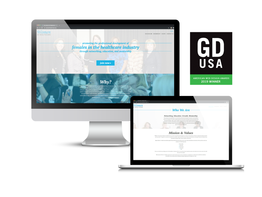 A Case Study about the non-profit website solution for Women in Healthcare