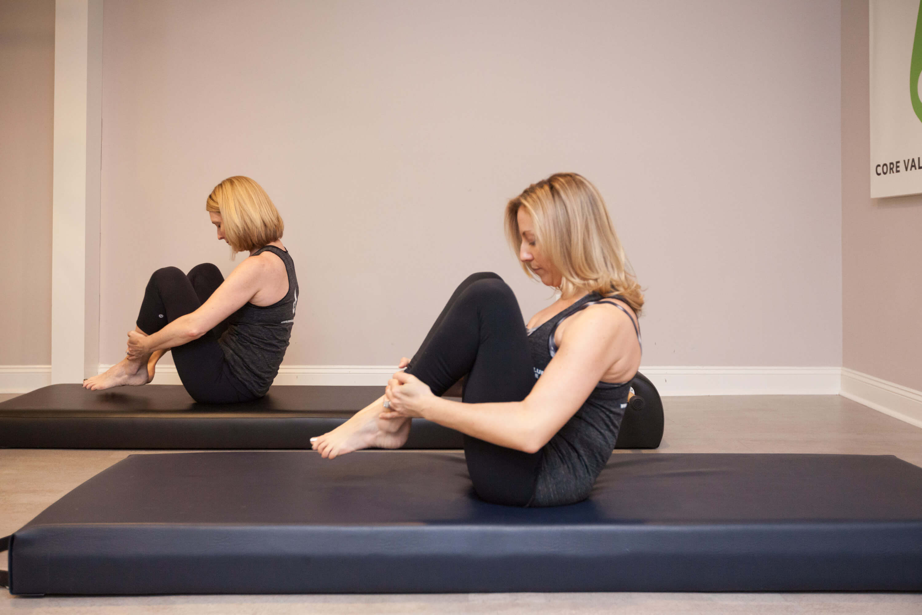 Core Value Pilates Mat Classes