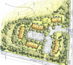Affordable housing conceptual plan