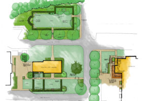 Church of Christ the King site plan