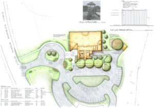 King of Kings Worship Center site plan