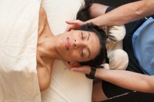 Neck massage