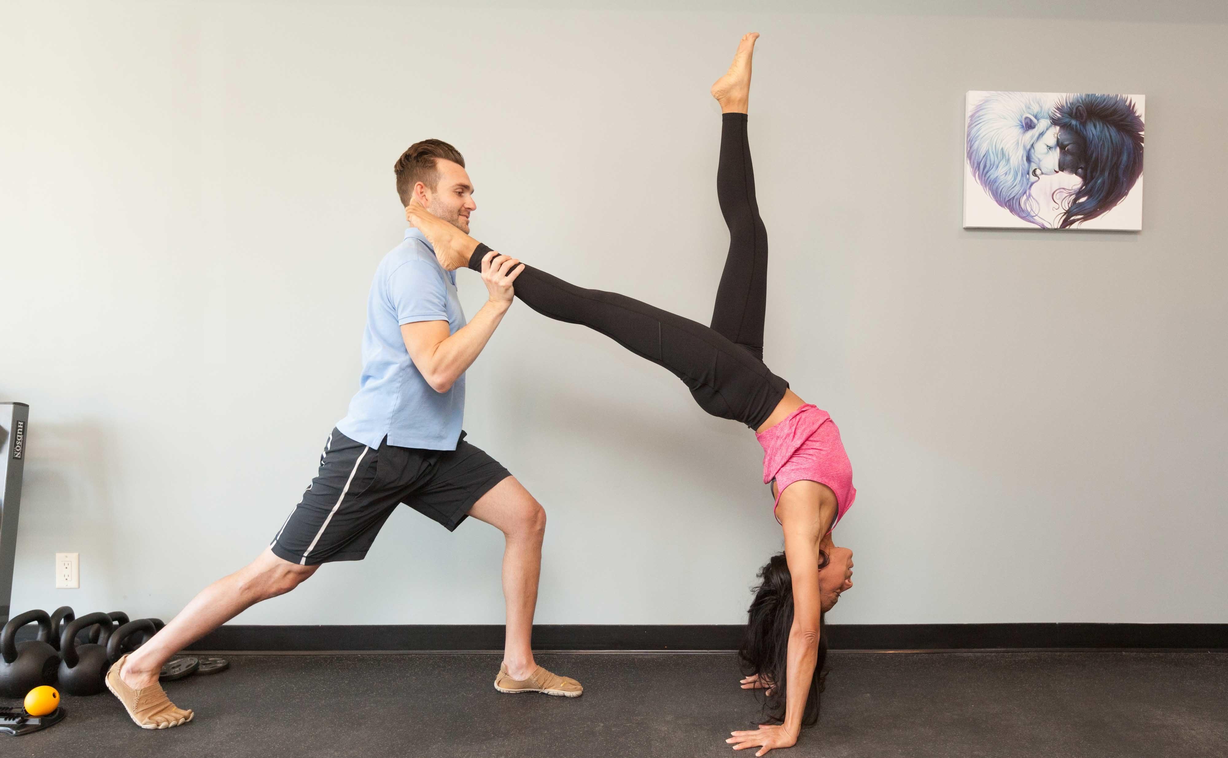Handstand stretch